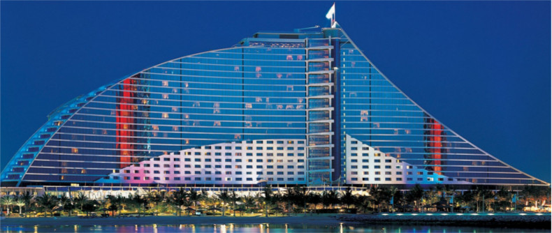 The 5 Star Jumeirah Hotel, Dubai